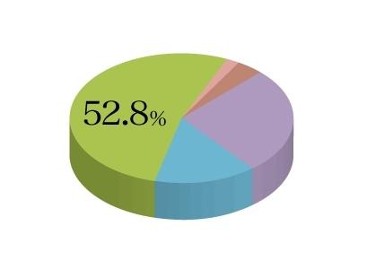 52.8%。それは事業が成長していくための施策への取り組み方